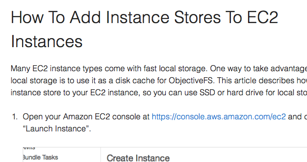 How To Mount an NVMe SSD or an Instance Store on EC2 for Disk Cache